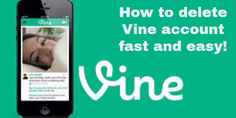 How to delete a vine account on Android or iPhone