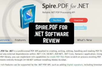 Spire.PDF for .NET Software Review