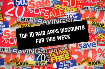 Top 10 paid apps discounts for this week (3/4 July)