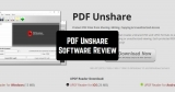 PDF Unshare Software Review