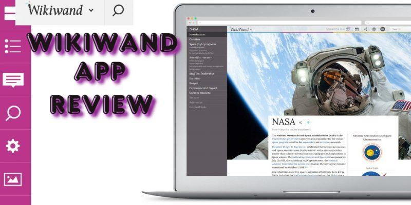 WikiWand app review