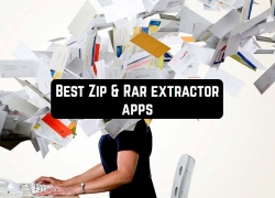 11 Best Zip & Rar extractor apps for Android & iOS